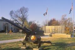 Memorial dos veteranos, Estados Unidos Midwestern Imagem de Stock Royalty Free