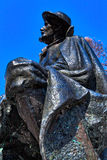 Memorial of Dr. Julius Kugy in Trenta in the Slovenian Triglav National Park, East Europe Stock Photography