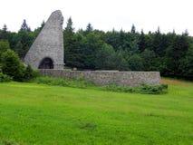 Memorial at The Dukla Pass Royalty Free Stock Image