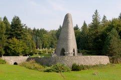 Memorial at The Dukla Pass - Slovakia Stock Photo