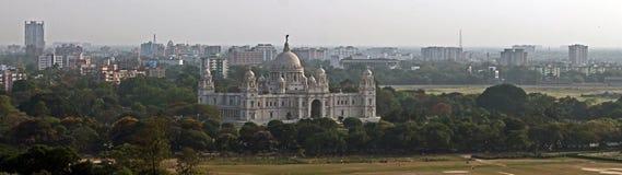Memorial em Kolkata, India de Victoria Imagens de Stock Royalty Free