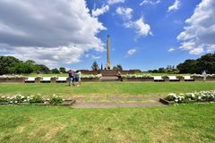 Memorial em Nova Zelândia Foto de Stock