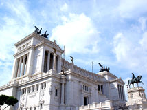 Memorial em Roma Foto de Stock Royalty Free