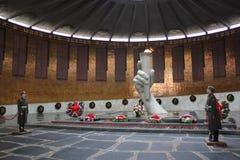 Memorial em Volgograd Fotos de Stock Royalty Free