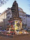 Memorial espontâneo de Micheal Jackson em Munich, De imagem de stock royalty free