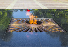 Memorial eternal flame Royalty Free Stock Photography