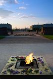 Memorial eterno da chama no campo de Marte em Rússia Fotos de Stock Royalty Free