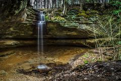 Memorial Falls Stock Photo