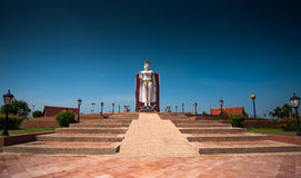 Memorial Field Ayutthaya Huntra Ayuttaya Thailand. The rest And exhibits works sculptures Royalty Free Stock Photo