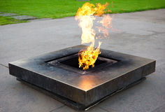 Memorial Fire Royalty Free Stock Photo
