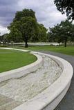 Memorial Fountain. The Princess Diana Memorial Fountain in Hyde Park, London stock photos