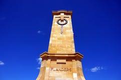 Memorial in Fremantle. WWI Memorial Reserve in Freo, Australia Royalty Free Stock Images