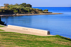 Memorial at the Gallipoli Battle fields royalty free stock photos