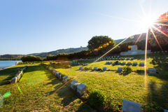Memorial at the Gallipoli Battle fields Royalty Free Stock Images