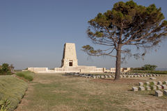 Memorial at the Gallipoli Battle fields in Turkey Stock Photography