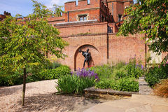 Memorial Garden by Historic Eton College Royalty Free Stock Image