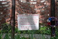 Memorial Garden Stock Image