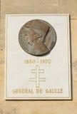 Memorial of General de Gaulle Royalty Free Stock Photos