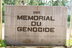 Memorial Genocide at the NUR Royalty Free Stock Photo