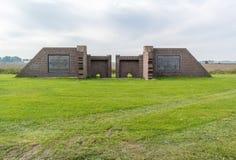 Memorial Getswerdersyl locks Friesland, Netherlands Stock Photography