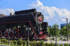 Ingushetia, Magas, June 27, 2018, memorial of glory, military train monument, editorial royalty free stock photos