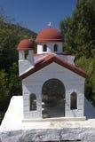 Memorial in Greece. At the roadside Stock Photo