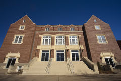 Memorial Hall, Bethel College, Kansas Royalty Free Stock Photography