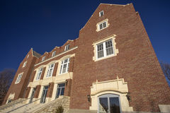 Memorial Hall, Bethel College, Kansas Stock Photos