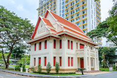 Memorial Hall of Chulalongkorn University Stock Images