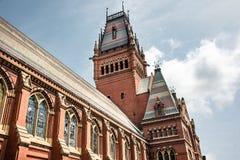 Memorial Hall przy uniwersytetem harwarda w Boston zdjęcie royalty free