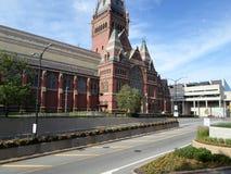 Memorial Hall, Université d'Harvard, Cambridge, le Massachusetts, Etats-Unis Photographie stock libre de droits