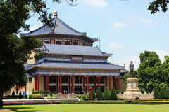 Memorial Hall von Sun Yat-sen Lizenzfreies Stockbild