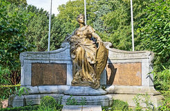Memorial 1914-1918 in Halle, Belgium Stock Photo