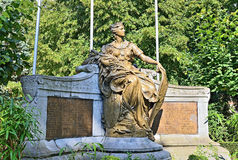 Memorial 1914-1918 in Halle, Belgium Royalty Free Stock Images