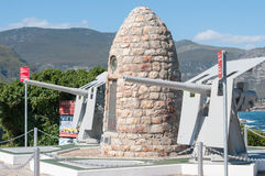 Memorial for Hermanus citizens Stock Photography