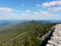 Memorial Highway on Whiteface Mountain, Adirondack Stock Photography