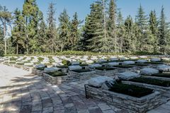 Memorial of the Israeli Liberation Army on Mount Herzl. IDF royalty free stock photo
