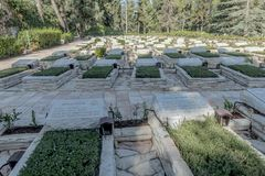 Memorial of the Israeli Liberation Army on Mount Herzl. IDF stock image