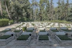 Memorial of the Israeli Liberation Army on Mount Herzl. IDF stock photo