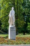 Memorial of Janko Kral. Statue of Janko Kral in Bratislava Stock Photos