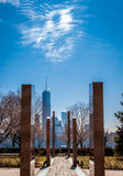 9/11 memorial from Jersey City, NJ Royalty Free Stock Images