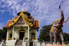 Memorial of King Naresuan Stock Photography