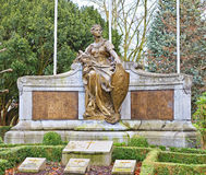 Memorial in Koning Albert I Park Royalty Free Stock Photography