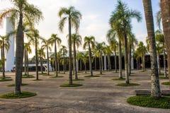 Memorial of Latin America royalty free stock photos