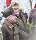 In memorial Latvian Legion Royalty Free Stock Photography