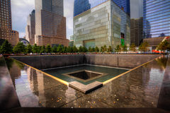 911 Memorial in Manhattan Stock Photography