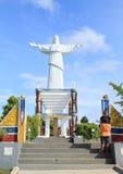 Memorial on Mansinam island - Jesus Stock Image