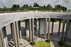 Memorial on Mardasson Hill Royalty Free Stock Image