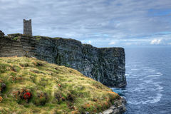 Memorial at Marwick Head in Orkney, Scotland Stock Photos