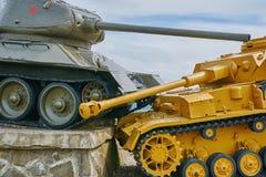 Memorial in Memory of the Tank Battle Stock Photo